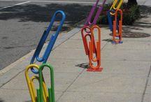 Bike racks / by Sue Maurer