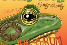 Noisy Frog Sing-Along / There's a lot going on out there, and this book is a wonderful bridge to a whole noisy, busy world of insects. Learn who is making what sound, and why. In this book the reader is treated to scientifically accurate, up-close depictions of some very cool bugs. It explains why the bugs make the sounds they do, and how they do it—and it's not with their voices! Plus the author offers several intriguing bug games.