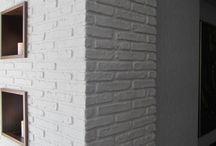 beyaz tas duvar