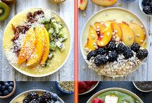 Smoothie Bowls / This board contains all the inspirations of beautiful smoothie bowls!