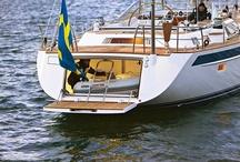 Hallberg-Rassy / Hallberg-Rassy Yachts, sailing brand from Sweden.