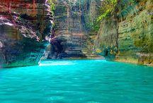 όμορφες λίμνες
