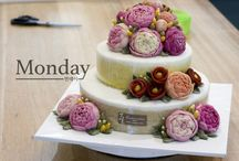 monday_dongtan / Korea beanpast flower cake