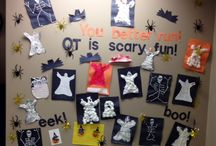 OT Bulletin Boards / Occupational Therapy bulletin board ideas and themes