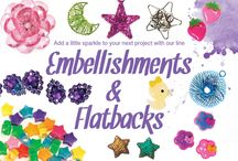 for your crafts / embellishments, sparkles, flat backs to enhance your awesome crafts and projects