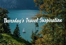 Thursday's Travel Inspiration Post Cards / Every Thursday receive a FREE Travel Print Series from Live Wonderful!