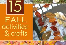 Fall Fun / Educational activities, recipes, and fun ideas for the fall season.