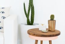 side table decor / 사이드 테이블 데코