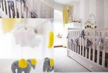 The Nursery / My babies Room. Decorated, designed by me and my husband.