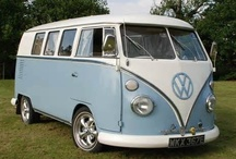 V Dub Love / One day I will own a VW camper and will travel the world on wheels.