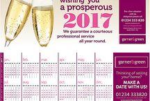 Estate agent leaflet ideas – capture clients with a calendar!