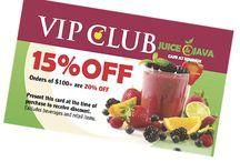 VIP Cards / Specials
