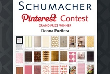 Schumacher Contest & I WON!!! / A rainbow of colors showing you the best of Schumacher fabrics and wallcoverings along with examples showing how beautiful they are when used to furnish your home. . . . . Got the great news that I won this contest!  Thank you Schumacher judges.  Fun contest. / by D for Design / Donna Puzifera
