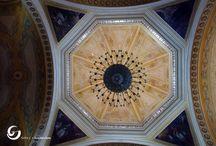 Cúpulas Domo / Interior de las cúpulas de las iglesias de México