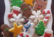 Cookies / Chocolate Chip Cookies Iced Sugar Cookies