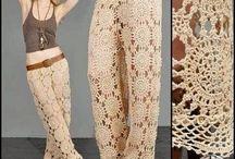 Crochet calça