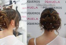 Peinados, Trenzas, Semirecogidos y Recogidos / Peinados, Trenzas, Semirecogidos y Recogidos en Pravela Peluqueros www.pravelapeluqueros.es