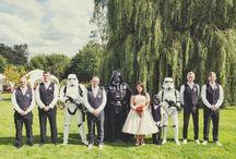 Mariage Star Wars - Star Wars Wedding / Des idées pour une décoration de mariage Star Wars - Ideas for a Star Wars wedding decoration