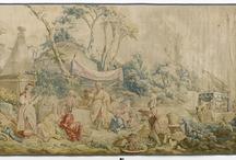 tapestries/tapisserie