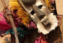 Tribal Africana Pictorial / Pictorial of traditional African tribesmen and their costumes.