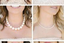Maynard wedding / Burlap, pearl & lace! / by Miranda Campbell