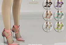 los sims 4 zapatos