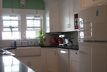 vintage kitchen re-do / by Katie Lime