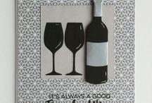 Kort med vin