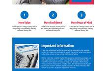 credit report landing page design