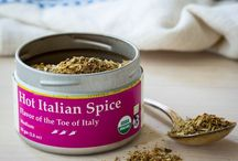 TTS Co. - Hot Italian Spice / Our Hot Italian Spice blend represents a fusion of Italian flavors. Based upon recipes of Calabria and Sicily, the crossroads of ancient commerce and cuisine of the Mediterranean, Hot Italian Spice offers a rich herbal flavor with moderate chili heat that elevates the flavors of savory dishes. Use with pastas, on pizzas, with roasted vegetables, in burgers or wherever else you are inspired.