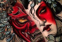 Oriental tattoo inspo