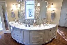 Kitchen & Bathroom Countertops / An array of beautiful installations to help with ideas.