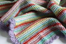 Crochet Blankets / by lanasyovillos .