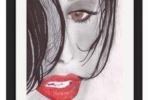 Lápis Grafite / Desenhos