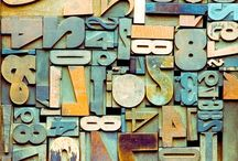 Typography + Letterpress / by A Clementina