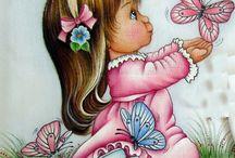 pintura em tecido / by Rosi Coutinho