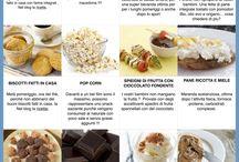 Snack sani fuori pasto - Ricette dieta mediterranea