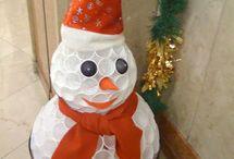 MS Sněhulák z kelímků