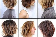 Idées coiffures et coupes