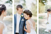 wedding dress and styling
