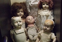 Dolls / by Suzanne M. Artist/Owner Of The Curious Crow Designs