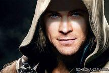 holy hotness Chris Hemsworth