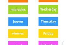 Spanish - Calendar/Seasons/Weather