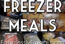 Freezer Meals/Make Ahead