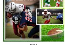 Sports Posters / Move your sports photography to next level with our Themed Customizable Sports Photoshop Templates. Upsell to your clients using our easy to customize templates suited for any Sports Team, Single Player or for Memory Mate Collection.