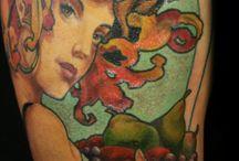 Art Nouveau Tattoo Wish List / by Amanda Teague