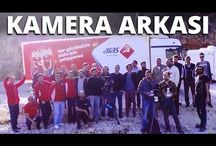 Aras Kargo Gönül Dağı Reklamı - Kamera Arkası