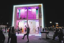dsb+ helping artist Scott Cohen at Burning Man with 'Life Cube'