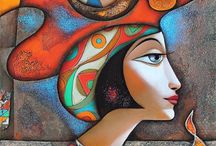 Painters - Wlad Safronov / Discovered courtesy of Pinterest, this guy, Wlad-Safronov (1965 - ) was born in the Ukraine in 1965 and currently resides in Munich, Germany. Thanks Pinterest!!