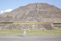 Teotihuacán / Pirámides de Teotihuacán - México